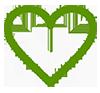 Icono corazón blanco