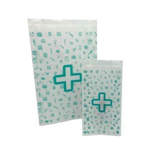 Bolsas para farmacia grandes y pequeñas
