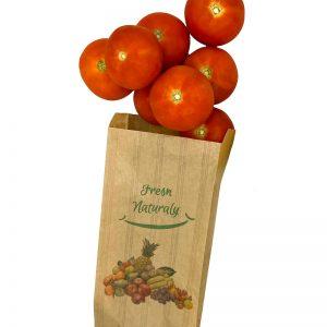 Bolsa frutería línea moderna para verduras