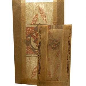 Bolsas de papel con ventana