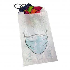 Bolsas de papel porta mascarillas